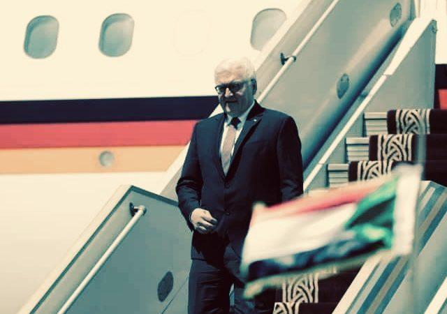 هدية قيمة من تجمع المهنين لرئيس المانيا و المانيا تعد بحل اكبر مشاكل السودان